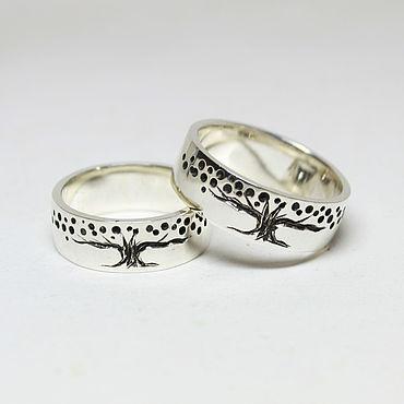 Свадебный салон ручной работы. Ярмарка Мастеров - ручная работа Кольца с символом жизни. Handmade.