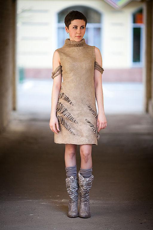 Dress 'gold Leaf', Dresses handmade, Kharkiv, Фото №1