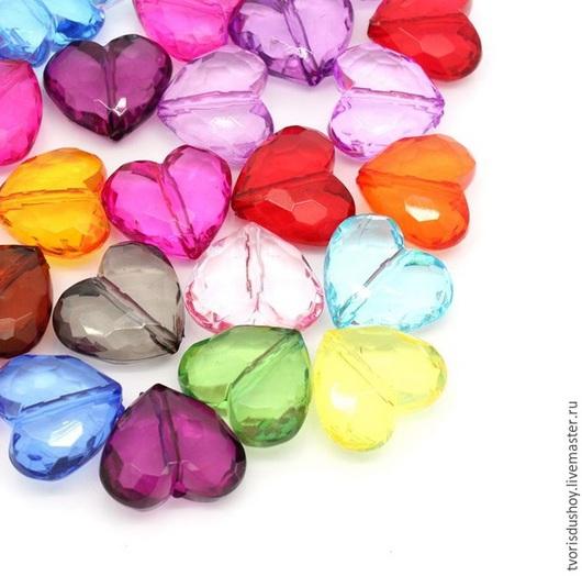 Для украшений ручной работы. Ярмарка Мастеров - ручная работа. Купить Бусина сердце. Handmade. Бусины, бусина сердце