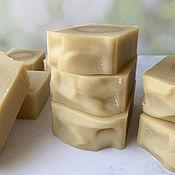 Косметика ручной работы handmade. Livemaster - original item Natural soap with Buffalo milk and sour cream. Handmade.