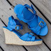 Обувь ручной работы handmade. Livemaster - original item Sandals made of genuine leather Jess. Handmade.