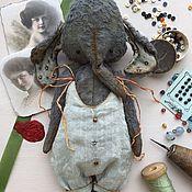 Куклы и игрушки ручной работы. Ярмарка Мастеров - ручная работа Синий слон. Handmade.