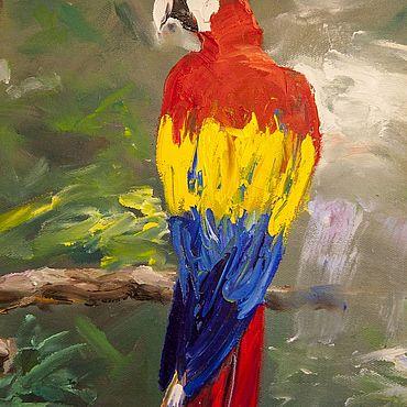 Для дома и интерьера ручной работы. Ярмарка Мастеров - ручная работа Попугай. Handmade.