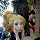 Коллекционные куклы ручной работы. Фарфоровая шарнирная кукла. Александра Парнюк. Ярмарка Мастеров. Бжд, фурнитура