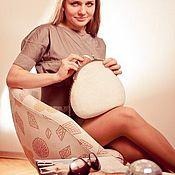 Сумки и аксессуары ручной работы. Ярмарка Мастеров - ручная работа сумочка войлочная. Handmade.
