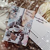 Открытки ручной работы. Ярмарка Мастеров - ручная работа Новогодняя открытка 10х15. Handmade.