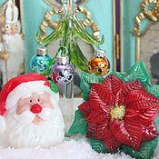 """Подарки к праздникам ручной работы. Ярмарка Мастеров - ручная работа Набор мыла""""Рождественский вечер"""". Handmade."""