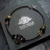 Украшения handmade. Livemaster - original item Necklace with Topaz and citrine