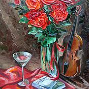 Картины и панно handmade. Livemaster - original item Oil painting Strong sense. Handmade.