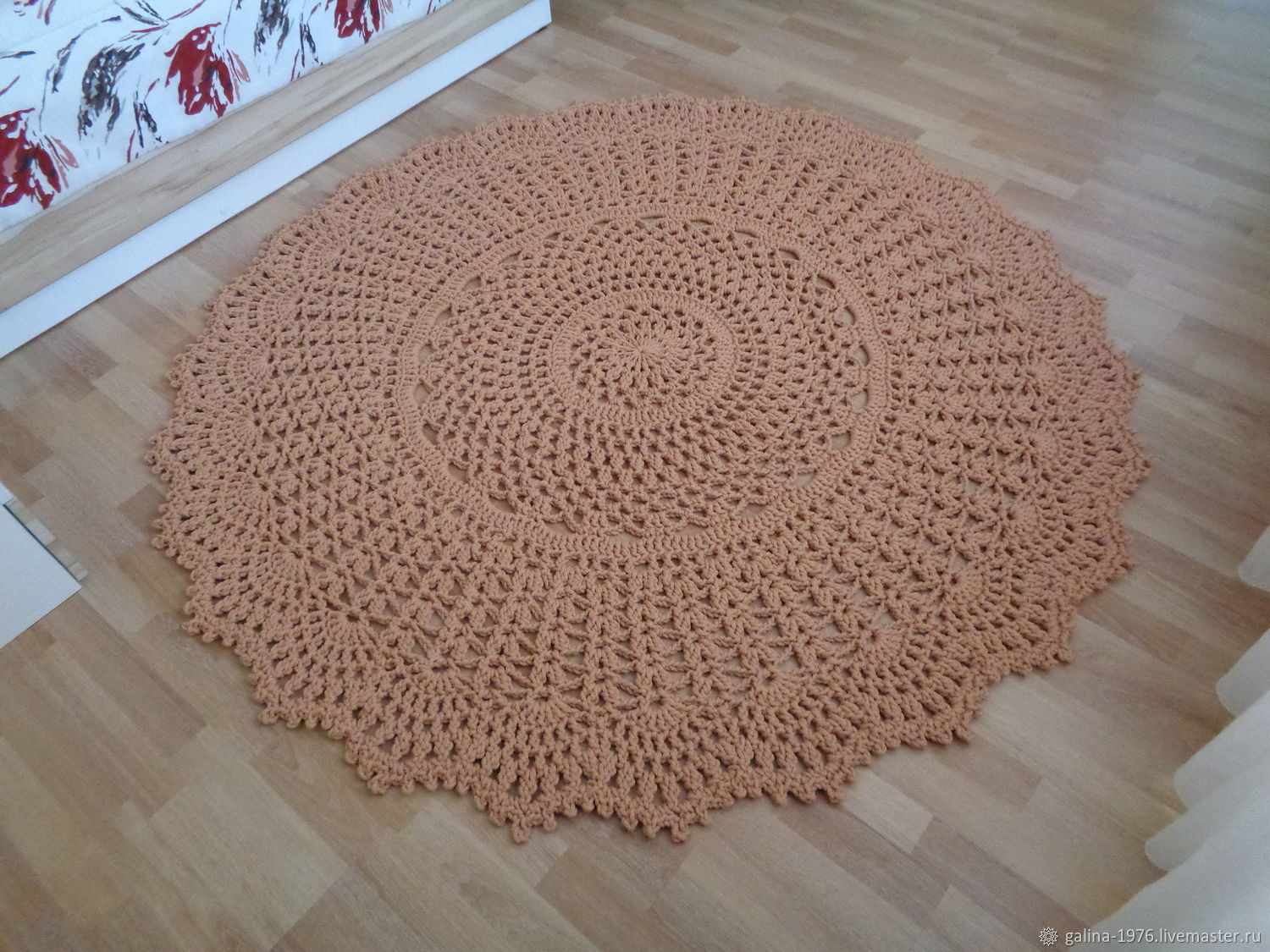 Knitted carpet 'Humility Maxi', Carpets, Voronezh,  Фото №1