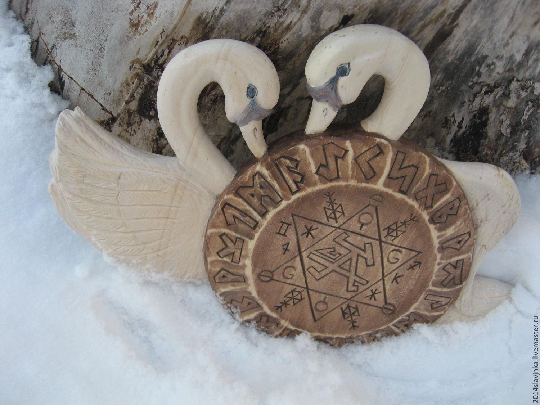'Swan fidelity', Amulet, Barnaul,  Фото №1