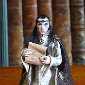 Portrait Doll handmade. Livemaster - original item Elrond: Moon runes. Handmade.