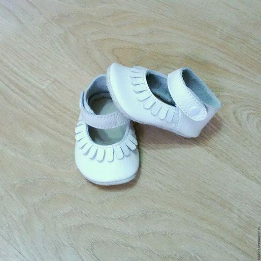 Детская обувь ручной работы. Ярмарка Мастеров - ручная работа. Купить Пинетки, чешки. Туфельки. Handmade. Обувь ручной работы