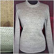 Одежда handmade. Livemaster - original item Linen jumper Universal. Handmade.