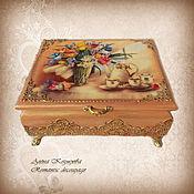 Для дома и интерьера handmade. Livemaster - original item Tea box