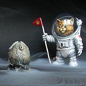 Куклы и игрушки ручной работы. Ярмарка Мастеров - ручная работа Котсмонавт   Кот-астронавт. Handmade.