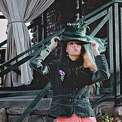 """Одежда ручной работы. Ярмарка Мастеров - ручная работа Жакет женский Мисс О""""Хара. Handmade."""