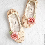 """Обувь ручной работы. Ярмарка Мастеров - ручная работа Тапочки """" Зефир"""". Handmade."""