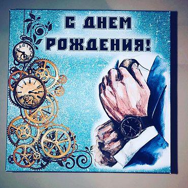 Сувениры и подарки ручной работы. Ярмарка Мастеров - ручная работа Мужской фотобокс. Handmade.