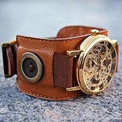 Украшения ручной работы. Ярмарка Мастеров - ручная работа часы наручные Button. Handmade.
