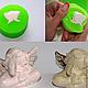 Другие виды рукоделия ручной работы. Заказать Пигмент для силикона для индикации смешивания силиконов. Силиком (elasto-form). Ярмарка Мастеров.