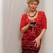 """Одежда ручной работы. Ярмарка Мастеров - ручная работа Платье """"Красно-черное"""". Handmade."""