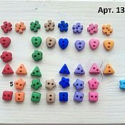 Материалы для творчества handmade. Livemaster - original item Mini buttons Dress It Up in assortment. Handmade.