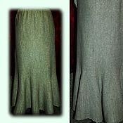 Одежда manualidades. Livemaster - hecho a mano 100%lnyana hilo. La falda perfecta el AÑO.Se relaciona en coche. Handmade.