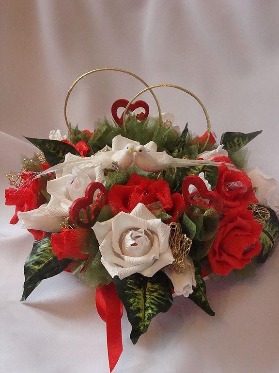 Подарок на свадьбу своими руками из цветов 90