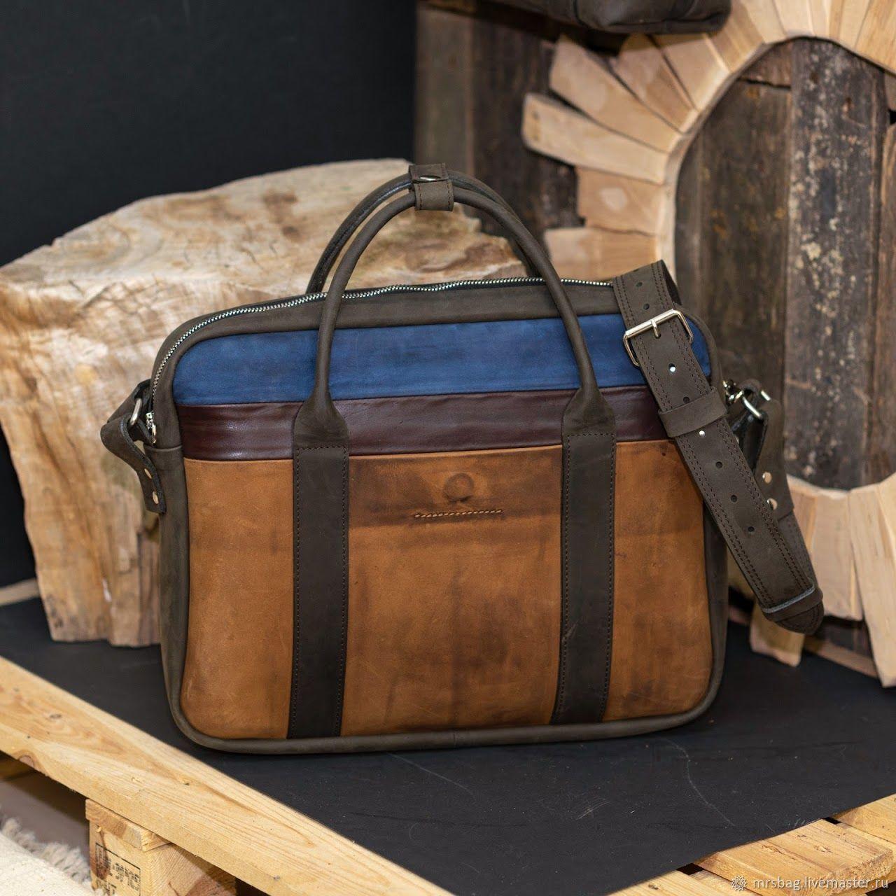 Мужская кожаная сумка 3С, Мужская сумка, Брест,  Фото №1