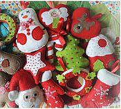 Куклы и игрушки ручной работы. Ярмарка Мастеров - ручная работа Игрушки на Елку к Новому году. Handmade.