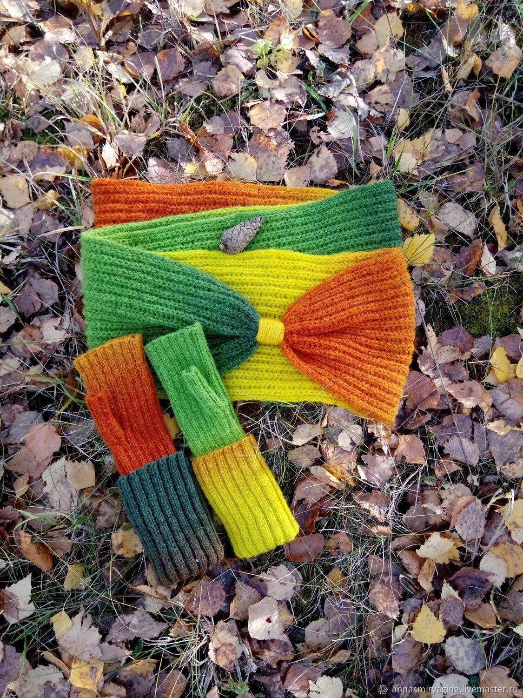 Kit Snood fingerless gloves Autumn, Headwear Sets, Zaraysk,  Фото №1