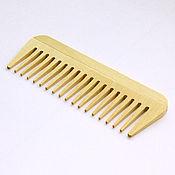 Украшения handmade. Livemaster - original item Wooden comb-comb made of birch wood No. №1201. Handmade.
