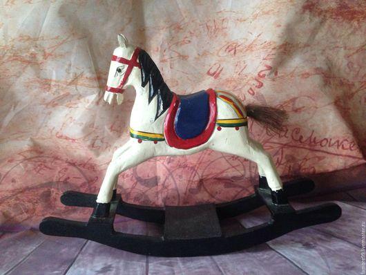 Винтажные куклы и игрушки. Ярмарка Мастеров - ручная работа. Купить Деревянная лошадка. Handmade. Лошадь, винтажные игрушки