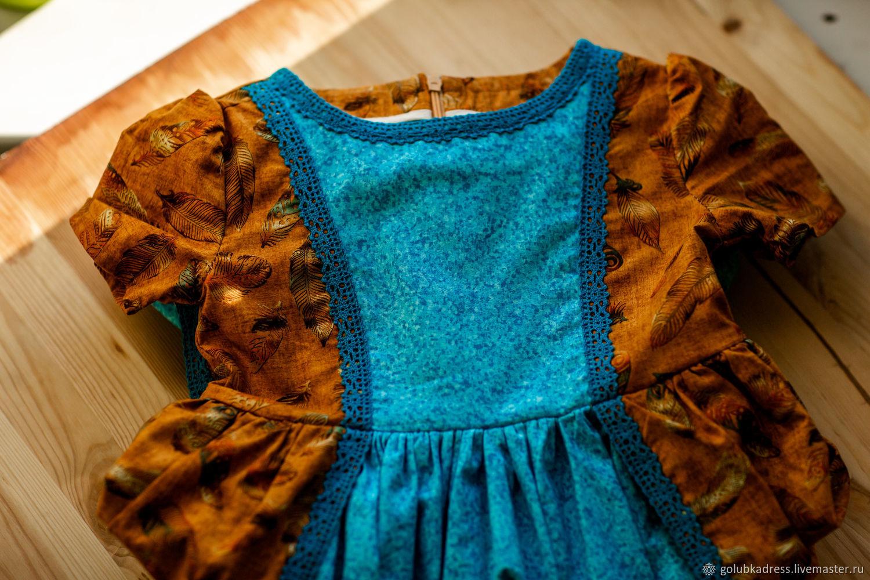 Платье с пёршками