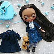 Куклы и игрушки handmade. Livemaster - original item Blythe doll Custom Blythe Doll OOAK VIRGINIA (TBL). Handmade.