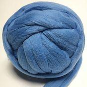 Материалы для творчества handmade. Livemaster - original item Australian Merino Light blue. Germany.19 MD. Wool.. Handmade.