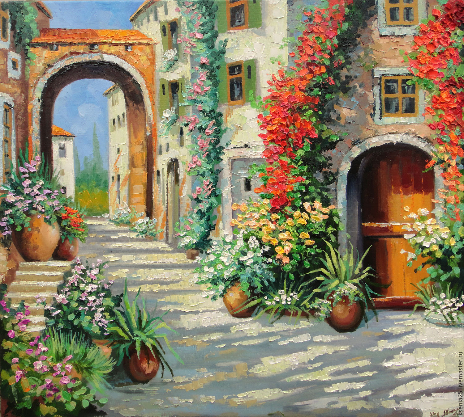 Handmade Oil Paintings Landscape
