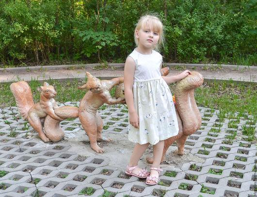 Одежда для девочек, ручной работы. Ярмарка Мастеров - ручная работа. Купить Платье - ручная работа (200383). Handmade. Салатовый, для девочки