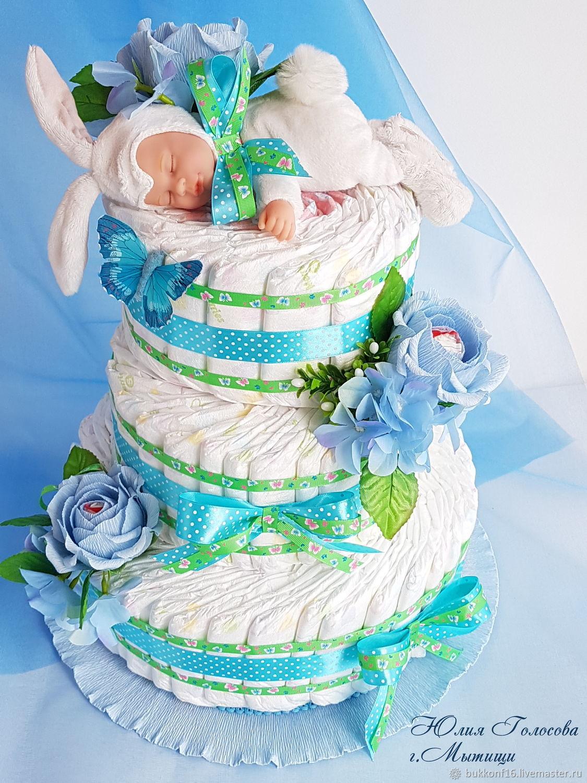 Картинка торты из памперсов