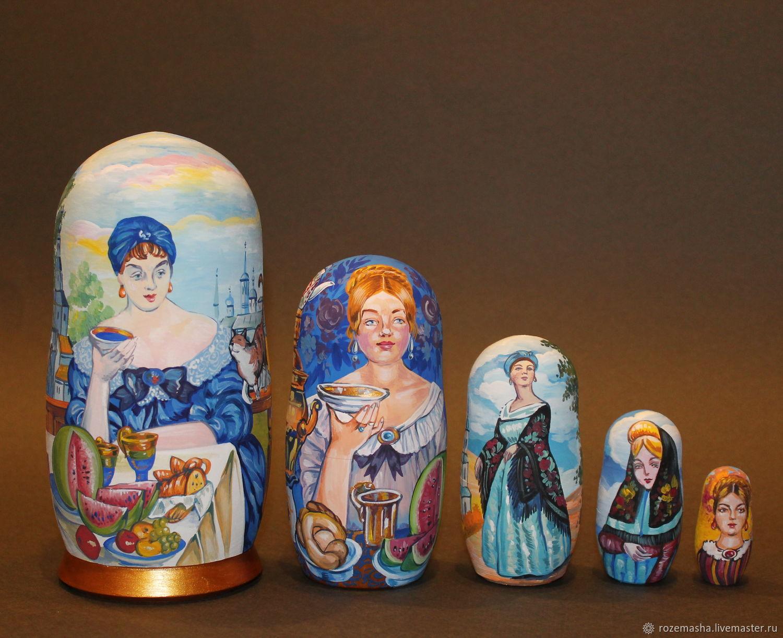 "Матрешка ""Кустодиев"", Dolls1, St. Petersburg,  Фото №1"