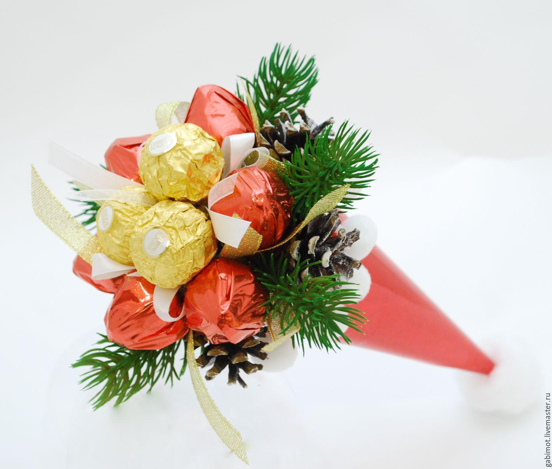 Букет цветов, новогодние букеты на заказ спб
