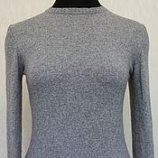 Одежда ручной работы. Ярмарка Мастеров - ручная работа Джемпер серый меланж. Handmade.