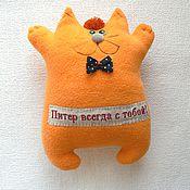 Куклы и игрушки ручной работы. Ярмарка Мастеров - ручная работа Кот из Питера. Handmade.