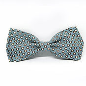 Аксессуары handmade. Livemaster - original item Bow tie gray polka dot. Handmade.