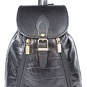Сумки и аксессуары handmade. Livemaster - original item Womens leather backpack