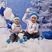 Подарки к праздникам ручной работы. Ярмарка Мастеров - ручная работа Подарки к новому году (подушки, колпак, сапожок, игрушки на елку). Handmade.
