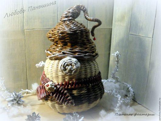 """Корзины, коробы ручной работы. Ярмарка Мастеров - ручная работа. Купить Мешочек для конфет """" Хранитель сладостей """". Handmade."""