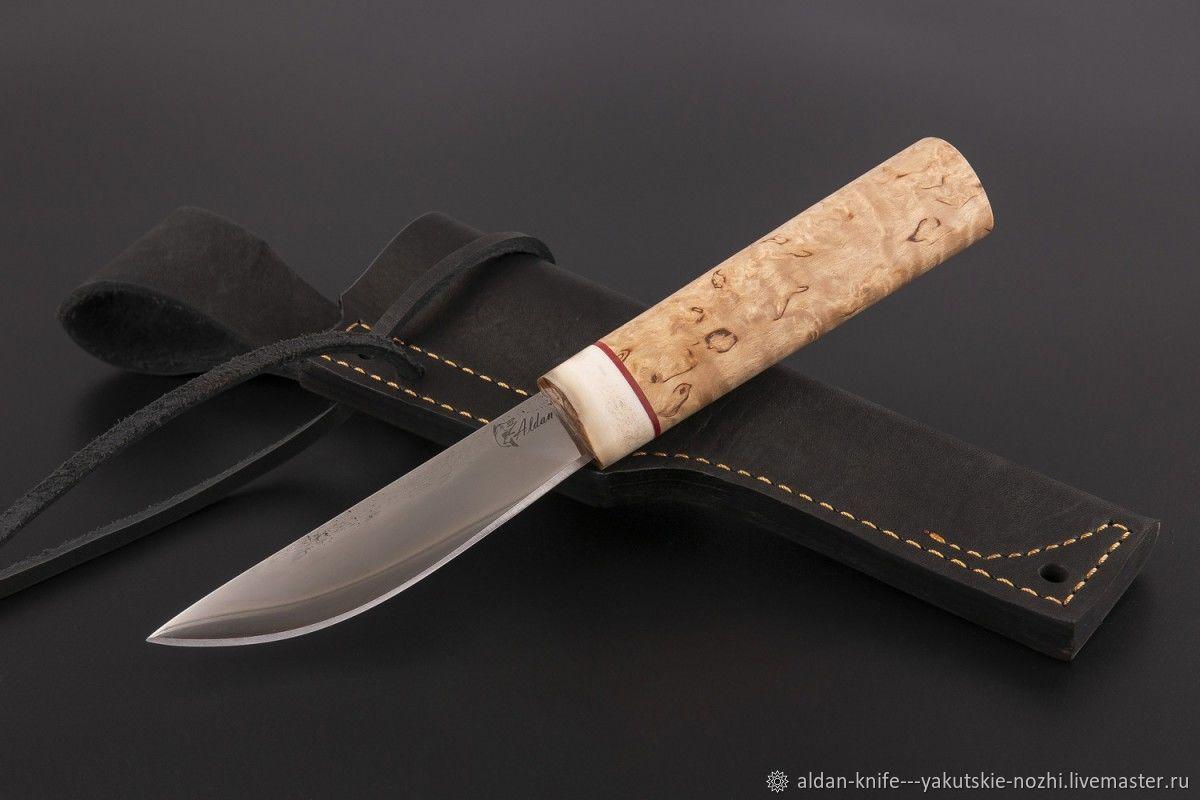 Оружие ручной работы. Ярмарка Мастеров - ручная работа. Купить Нож Якутский малый №37 (сталь х12мф). Handmade.