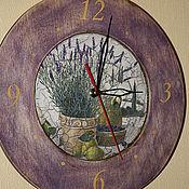 """Для дома и интерьера ручной работы. Ярмарка Мастеров - ручная работа Часы """"Дары Тосканы"""". Handmade."""